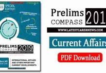 Prelims Compass 2019