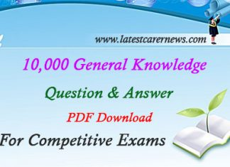 10000 General Knowledge Question