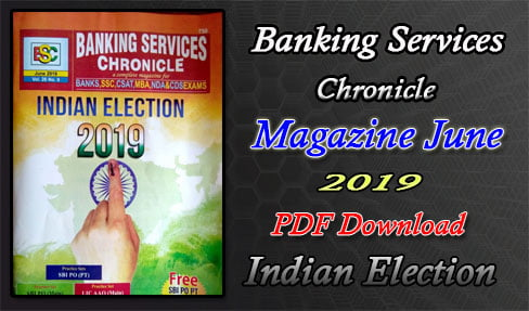 Banking Services Chronicle June Magazine 2019