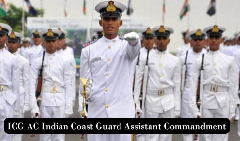 ICG AC Indian Coast Guard Assistant Commandment