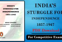 India Struggle for Independence