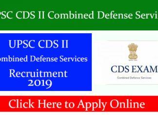 UPSC CDS II