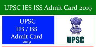 UPSC IES ISS