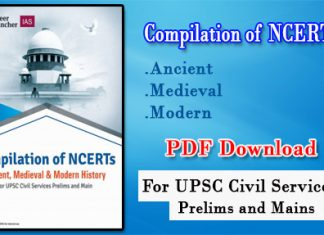 Compilation of NCERT History Book