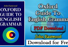 Oxford Guide to English Grammar
