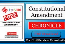 Constitutional Amendment Chronicle PDF