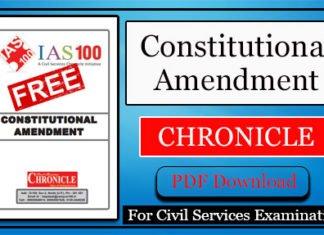 Constitutional Amendment Chronicle PDF