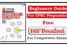 A Beginner Guide to UPSC Preparation