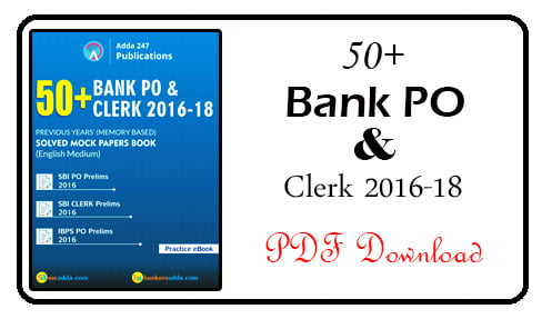 Bank Solved Mock Papers Book