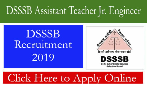 DSSSB Assistant Teacher Jr. Engineer