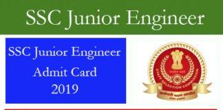 SSC Junior Engineer