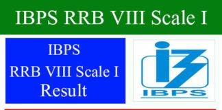 IBPS RRB VIII Scale I