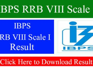 IBPS RRB VIII Scale I