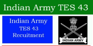 Indian Army TES 43