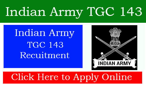Indian Army TGC 143