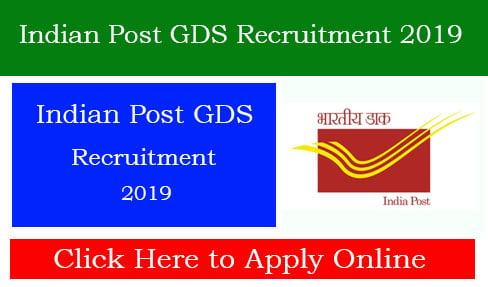 Indian Post GDS Recruitment 2019