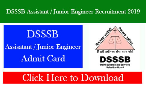 DSSSB Assistant / Junior Engineer