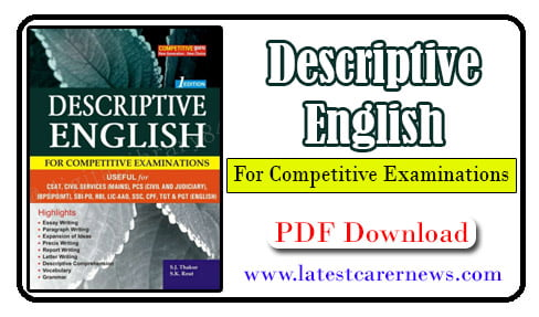 Descriptive English Writing