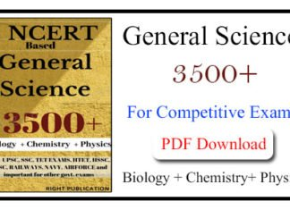 General Science Questions