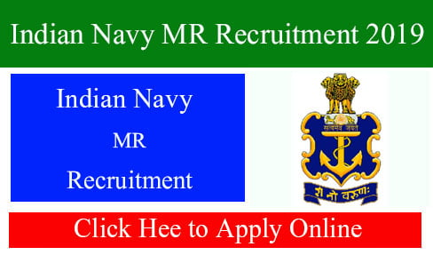 Indian Navy MR Recruitment 2019