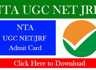 NTA UGC NET JRF
