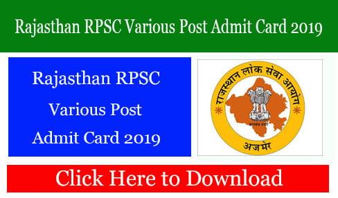 Rajasthan RPSC