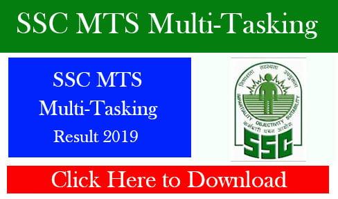 SSC MTS Multi-Tasking