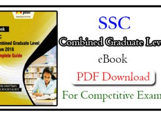 SSC Combined Graduate Level