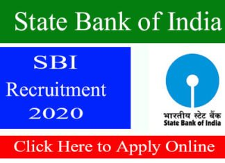 SBI Clerk Recruitment 2020