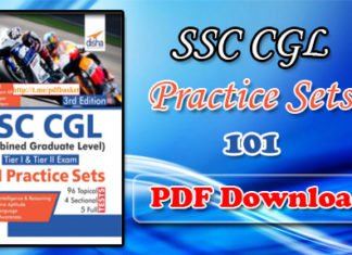 101 SSC CGL Practice Set