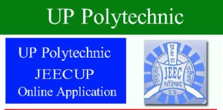 UP Polytechnic JEECUP Admission