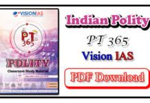 Vision IAS PT 365 Polity 2020