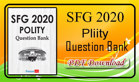 Polity Question Bank 2020