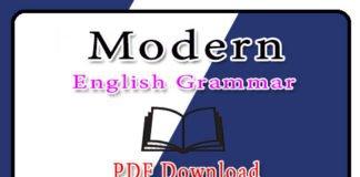Modern English Grammar