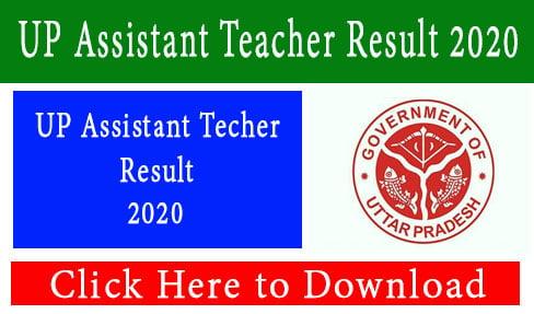 UP Assistant Teacher Result 2020