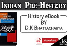 Indian Prehistory by D.K Bhattacharya