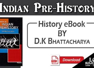Indian Prehistory by D.K Bhattacharya