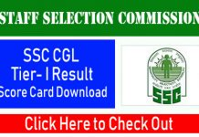 SSC CGL Tear I 2020