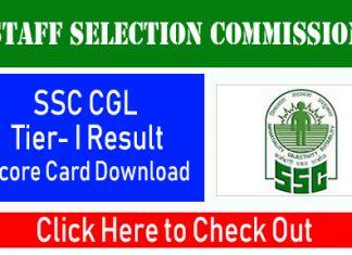 SSC CGL Tear I 2020