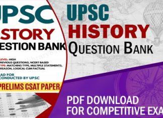 UPSC History Question Bank