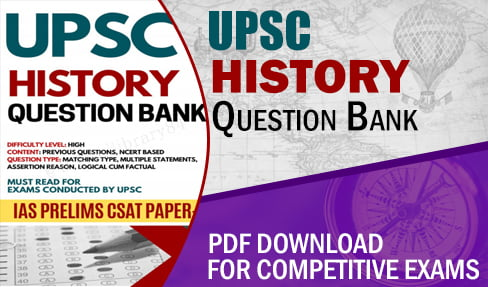 UPSC History Question Bank