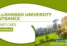 Allahabad University Entrance