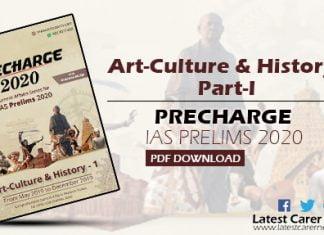 Art Culture and History Part-I