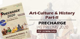Art Culture and History Part-II