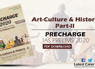 Art Culture and History Part-II