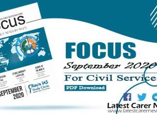 Focus September 2020