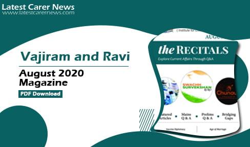 Vajiram and Ravi August 2020