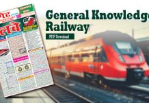 General Knowledge for RRB
