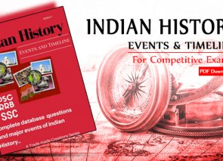 Indian History Events and Timeline PDF