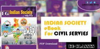 Indian Society Book PDF
